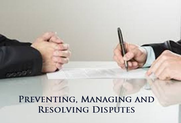 Dispute Prevention & Management